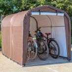 サイクルハウス 3台用 自転車置き場 自転車ガレージ サイクルポート 駐輪所 UVカット 防水 家庭用 自転車 バイク カバー ガレージ ###サイクルハウスB1803###