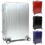 スーツケース Lサイズ 80L キャリーケース キャリーバッグ アルミフレーム TSAロック 軽量 静音 ダブルキャスター 4輪タイヤ ###ケースAL03-L-###