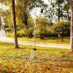 折りたたみ ランタンスタンド 収納袋付き 軽量 アルミ製 ランタンフック ランタンハンガー ペグ付き アウトドア キャンプ BBQ ###ライトスタンドDJ-SL###