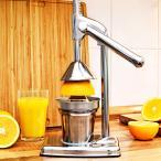 ハンド ジューサー 果汁絞り器 手動式 ジューサー ステンレス製 果汁 手作り ジュース 絞り器 フレッシュジューサー ###ジューサーZZJ-1###