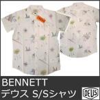 デウス シャツ メンズ プリント トップス 花柄 デウスエクスマキナ DEUS EX MACHINA Bennett Shirt DMS45112 5015