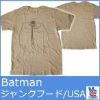 ジャンクフード Tシャツ メンズ 半袖 バットマン ヒーロー プリント チェスナッツ BATMAN JUNKFOOD 5166