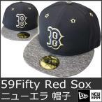 ニューエラ キャップ メンズ 帽子 レッドソックス メジャーリーグ 青 NEW ERA Red Sox 9015