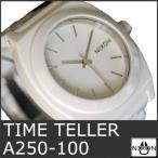 ニクソン 腕時計 メンズ タイムテラー ホワイト 白 セラミック