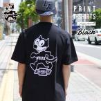 【FELIX×CHEVROLET  ビッグTシャツ(ブラック)】フィリックスの大きめバックプリントのビッグTシャツアメリカ直輸入シボレー社大人用メンズレディース共通