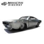 1/24 ワイルドスピード ミニカー 箱入り【Dom's Dodge Charger R/T(ベアメタル塗装)】1970年式ダッジチャージャー アメ車FAST&FURIOUS