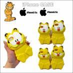 ガーフィールドスマホケース(シリコン)iPhone5/5S/6/6s garfieldグッズ iphoneカバー スマートフォンケース