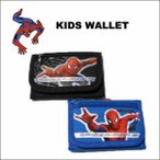 スパイダーマン ミニ三つ折り財布(全2色)SPIDER MAN 子供用小銭入れ付ミニウォレット ネコポス発送可能
