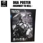 DGAポスター(Highway to Hell)60cm×45cm アメリカ直輸入 DavidGonzalesArt Ride or Die IMPALA チカーノ ローライダー  インテリア雑貨