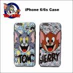 トム&ジェリースマホケース(プラスチック)iPhone6s tom&jerryグッズ iphoneカバー iphoneケース ネコポス発送可能