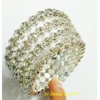 ベリーダンス 衣装 アクセサリー アーム (片腕用)  銀色