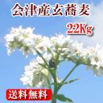【ふくしまプライド。対象商品】 H30 会津産玄蕎麦(在来種)22.5kg