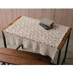 テーブルクロス センタークロス 正方形 綿 花 コットン レース キッチン雑貨 キッチングッズ花 センタークロス(角)po-50525
