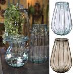 ショッピング花瓶 送料無料  VALENCIA RECYCLE GLASS VEINTITRES sp-vggn1230
