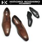 本革ビジネスシューズ/ 《HIROKO KOSHINO HOMME》 ヒロココシノ スワールモカ No122