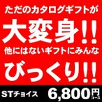 カタログギフト STチョイス6600円コース (20%割引・名入れ)他社には無い!オーダーメイドBOX!