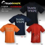 2018最新作 ラックナイト BLACK KNIGHT バドミントン スカッシュ  ユニ ウェア  半袖プラクティスシャツ Tシャツ プラシャツ T-12718