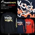 2017最新作 ラックナイト BLACK KNIGHT バドミントン スカッシュ  ユニ ウェア  長袖プラクティスシャツ Tシャツ プラシャツ T-7222