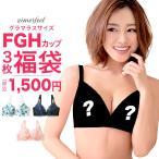 ラージフラワー 美胸ブラ 単品 ブラジャー 女性下着 大きいサイズ シームレス FGHカップ aimerfeel エメフィール
