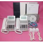 NTT ビジネスフォン NX 2台 ★ オーダーメイド配線  設定済 ★ ひかり電話オフィスに対応  【中古】