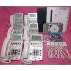 NTT ビジネスフォン NX 6台 ★ オーダーメイド配線  設定済 ★ ひかり電話オフィスに対応  【中古】