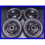 中古タイヤ 送料無料 ファイアストン FR10 155/65R13  ホンダ純正  13x4.0  100-4穴 4本セット サマータイヤ