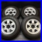 中古タイヤ 送料無料 グッドイヤー CARGO PRO 195/80R15 107/105L LT WEDS キーラー 15x6.0 33 139.7-6穴 4本セット サマータイヤ