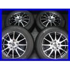 中古タイヤ 送料無料 ヨコハマ ECOS ES31 195/65R15    クロススピード 15x6.0 50 114.3-5穴 4本セット サマータイヤ
