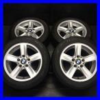 中古タイヤ 送料無料 ダンロップ ル・マン LM704 205/55R16  BMW純正 120純正 16x7.0 44 120-5穴 4本セット サマータイヤ