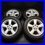 中古タイヤ 送料無料 ミシュラン ENERGY LX4 225/65R17  トヨタ純正 RAV4 17x7.0 45 114.3-5穴 4本セット サマータイヤ