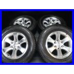 中古タイヤ 送料無料 ヨコハマ ジオランダーH/T-S 265/65R17  トヨタ純正 120プラド 17x7.5 30 139.7-6穴 4本セット サマータイヤ