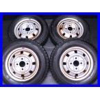 中古スタッドレスタイヤ 送料無料 ブリヂストン ブリザック REVOGZ 135/80R12  三菱純正 ミニカトッポ 12x4.0  100-4穴 4本セット