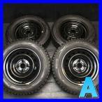 中古スタッドレスタイヤ 送料無料 ダンロップ ウィンターマックス WM01 165/70R14  トヨタ純正 スチールホイール 14x5.0  100-4穴 4本セット