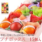 フルーツ くだもの 果物 端午の節句 母の日【4月1日〜15日到着】プチボックス【15個入り】