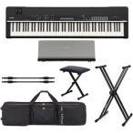 YAMAHA CP4 STAGE(専用譜面台+専用ソフトケース+X型スタンド等付6点セット) シンプルかつ最高のステージピアノ/送料無料