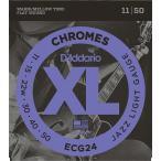 【弦×3セット】D'Addario ECG24×3 フラットワウンド弦/メール便発送・代金引換不可 ダダリオ
