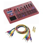 KORG electribe sampler RD+SQ-CABLE-6(パッチケーブルセット) ELECTRIBE2S-RD/送料無料
