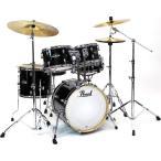 Pearl ドラムセット EXX785 C  31ジェットブラック EXPORT 18BD小口径 コンパクトサイズ