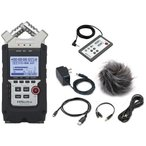 ZOOM H4nPro(アクセサリーパッケージ/APH-4nPro+リモートコントローラ付) 小さいマルチトラックレコーダー H4nSP後継機