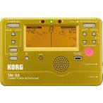 【ポイント5倍】KORG TM-50-GD コルグ チューナー/メトロノーム/メール便発送・代金引換不可
