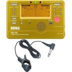 ショッピングチューナー KORG TM-50-GD+KC KTM1200 チューナー/メトロノーム+コンタクトマイクセット/メール便発送・代金引換不可
