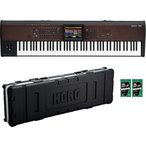 【ポイント7倍】KORG KRONOS2-88LS(専用ハードケース/HC-KRONOS2-88LS+鍵盤みがっき×2袋付) ワークステーション KRONOS LS/送料無料・代金引換不可
