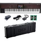 【ポイント6倍】KORG KRONOS2-88LS(専用ハードケース/HC-KRONOS2-88LS+ペダル3種+鍵盤みがっき×2袋付) ワークステーション KRONOS LS/送料無料・代金引換不可