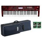 【ポイント6倍】KORG KROSS2-61-RM(専用ソフトケース/SC-KROSS2-61+鍵盤みがっきx2袋付) Red Marble/レッドマーブル/限定カラー/送料無料・代金引換不可