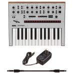 KORG monologue-SV+KA350+audio-technica ATL472A/5.0(純正ACアダプター+ケーブル1本) Silver シルバー/送料無料