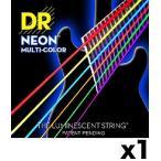 【限定2セットパック】【弦×2セット】DR NMCE-2/10×1 [10-46] NEON マルチカラー エレキギター弦/メール便発送・代金引換不可
