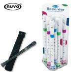 【大処分市】nuvo Recorder ソプラノリコーダー/4色より選択下...