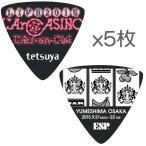 【限定ピック5枚】ESP PA-LT10-2015LArCASINO/BK×5 L'Arc〜en〜Ciel LIVE 2015 L'ArCASINO tetsuya/メール便発送・代金引換不可