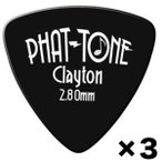 Clayton PHAT-TONE TRI 2.80mm x3枚 トライアングル/おにぎり ベース用/メール便発送・代金引換不可