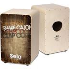 【ポイント5倍】Sela CaSela Vintage Brown SE075 スネア・カホン/送料無料